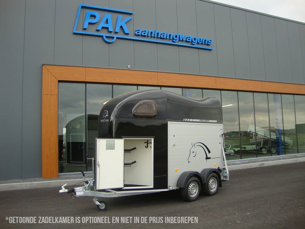 Cheval Liberté alu/poly 2 paards paardentrailer