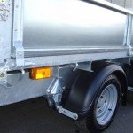Ifor Williams plateau 547x225cm 3500kg 2-as PAK Aanhangwagens banden