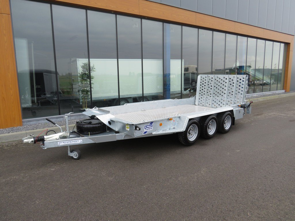 Ifor Williams GH146 machinetransporter 419x184cm 3500kg tridemas Ifor Williams machinetransporter 419x184cm 3500kg PAK Aanhangwagens overzicht